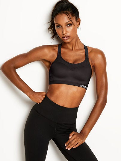 Victoria/'s Secret Incredible Lightweight Max Sport Bra BLACK