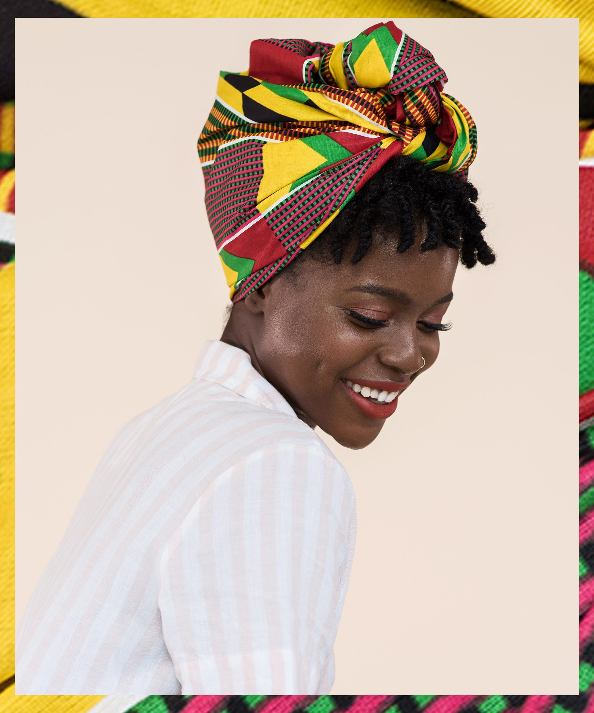 How To Style A Head Wrap On Natural Hair