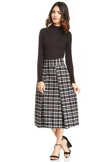 Fl Ponte Flippy Skirt