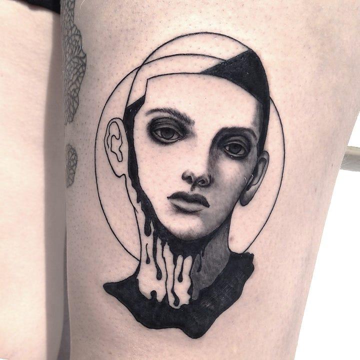 Tattoo rippenbogen frau