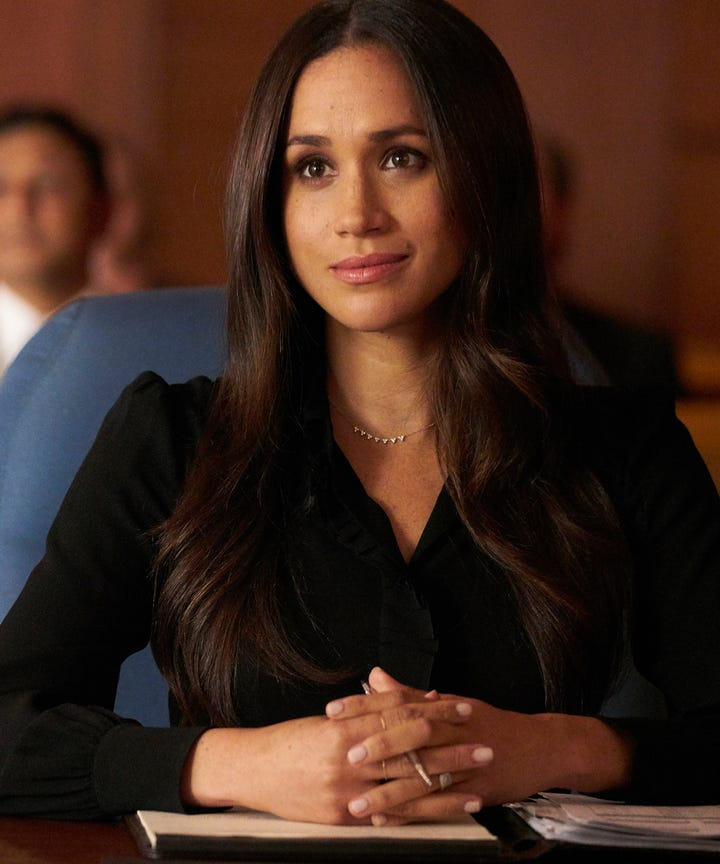 Meghan Markle Suits Storyline Foreshadow Relationship