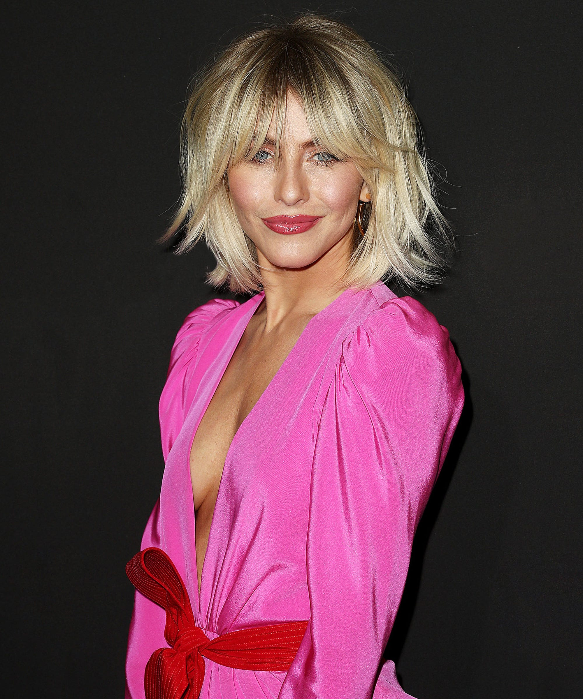 Julianne Hough Gets New Shag Haircut With Bangs