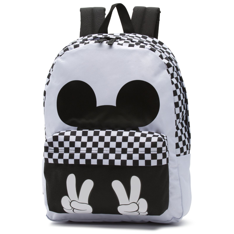 6ede61b64c Disney x Vans + Checkerboard Mickey Mouse Realm Backpack