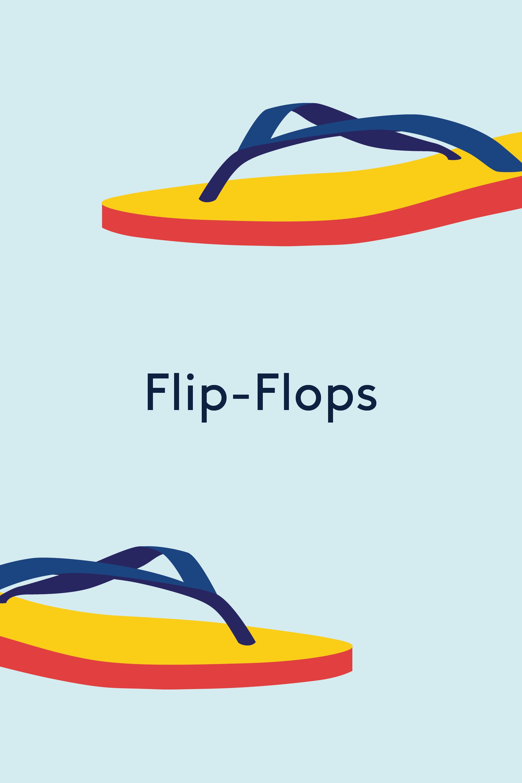 Intimates & Sleep Brilliant Vera Wang Flip Flops 7/8 Black