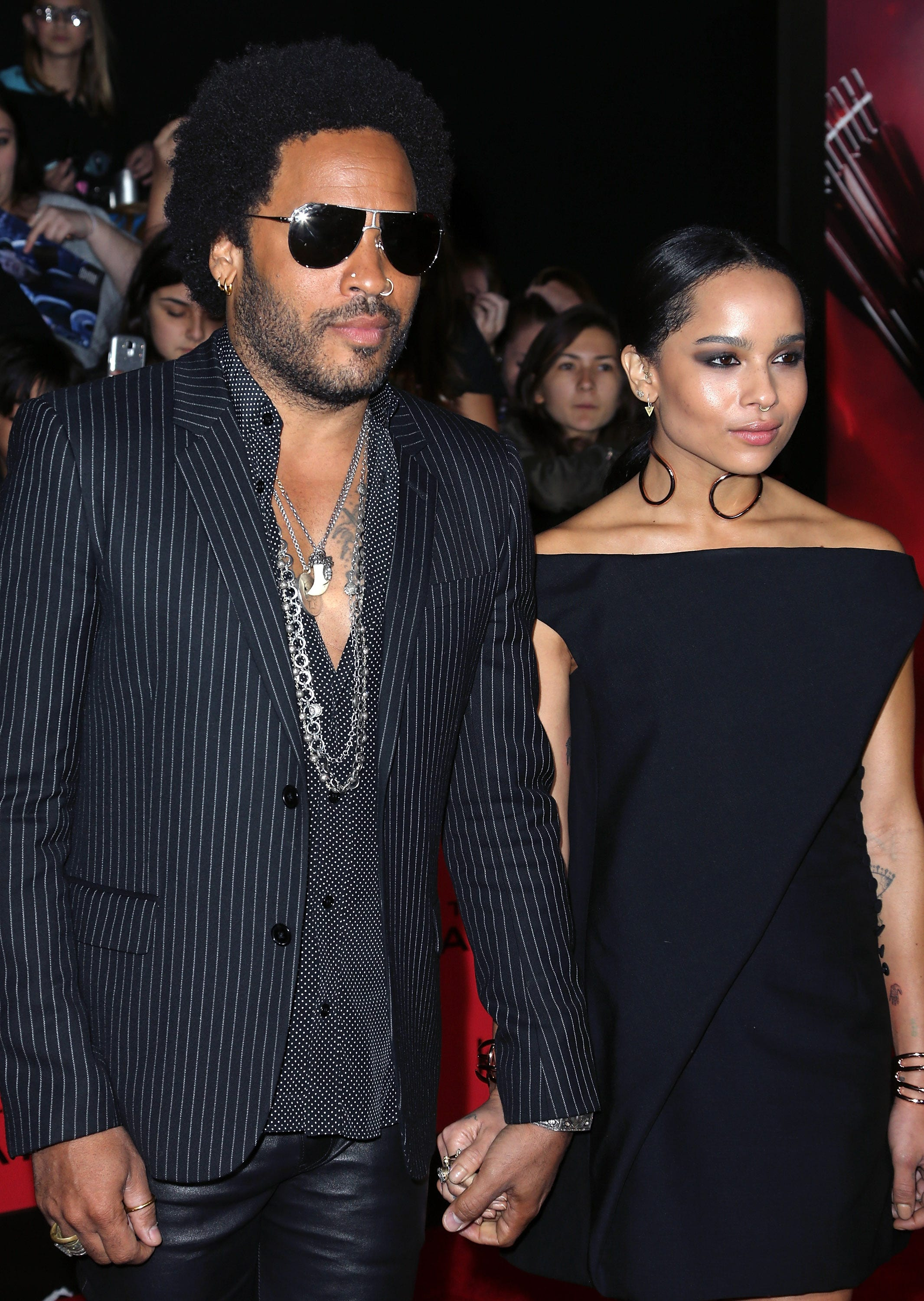 Zoe Lenny Kravitz Father Daughter Relationship