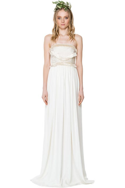 Mara Hoffman Iris Fringe Gown