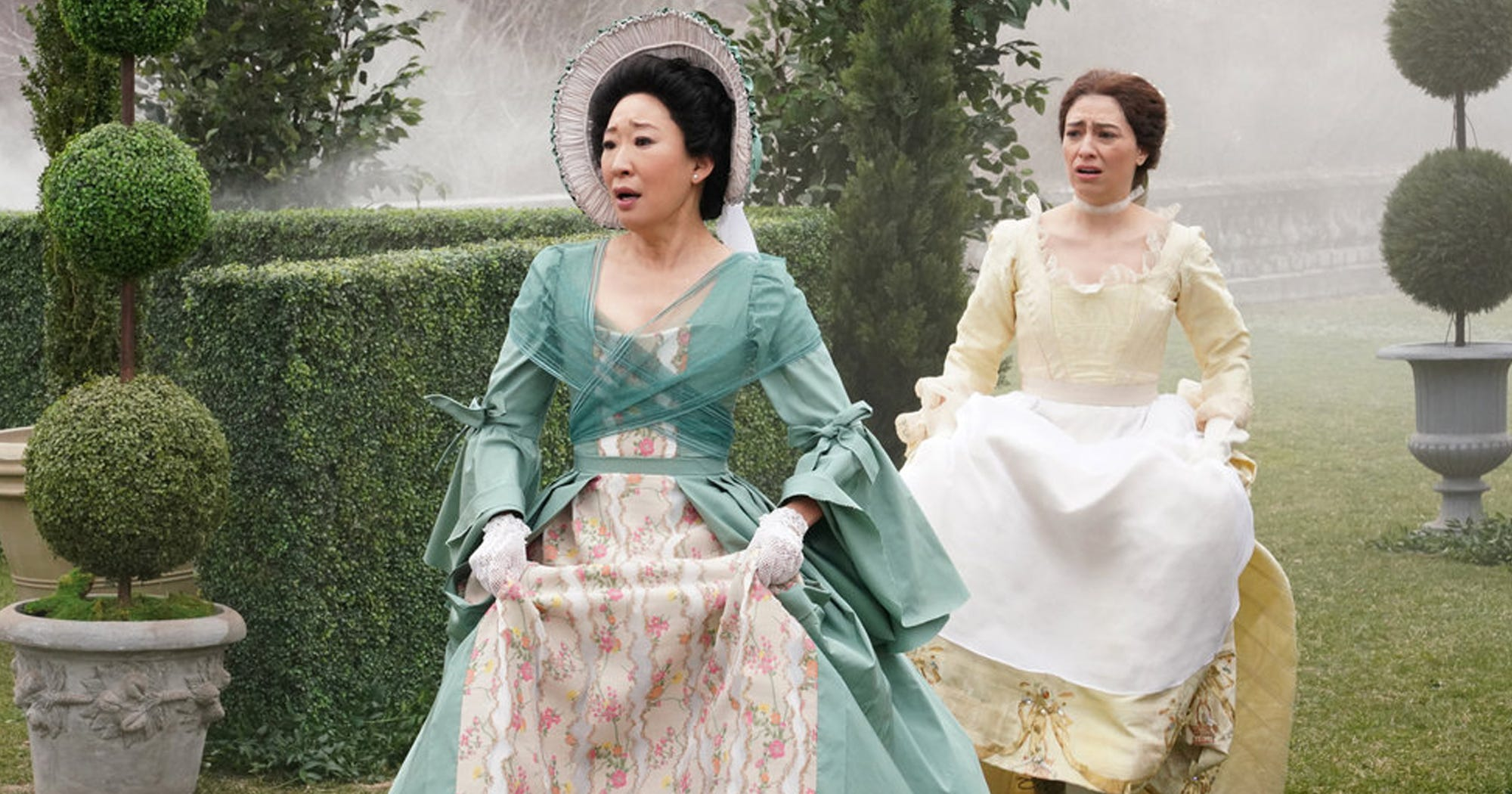 Image result for sandra oh snl the duel