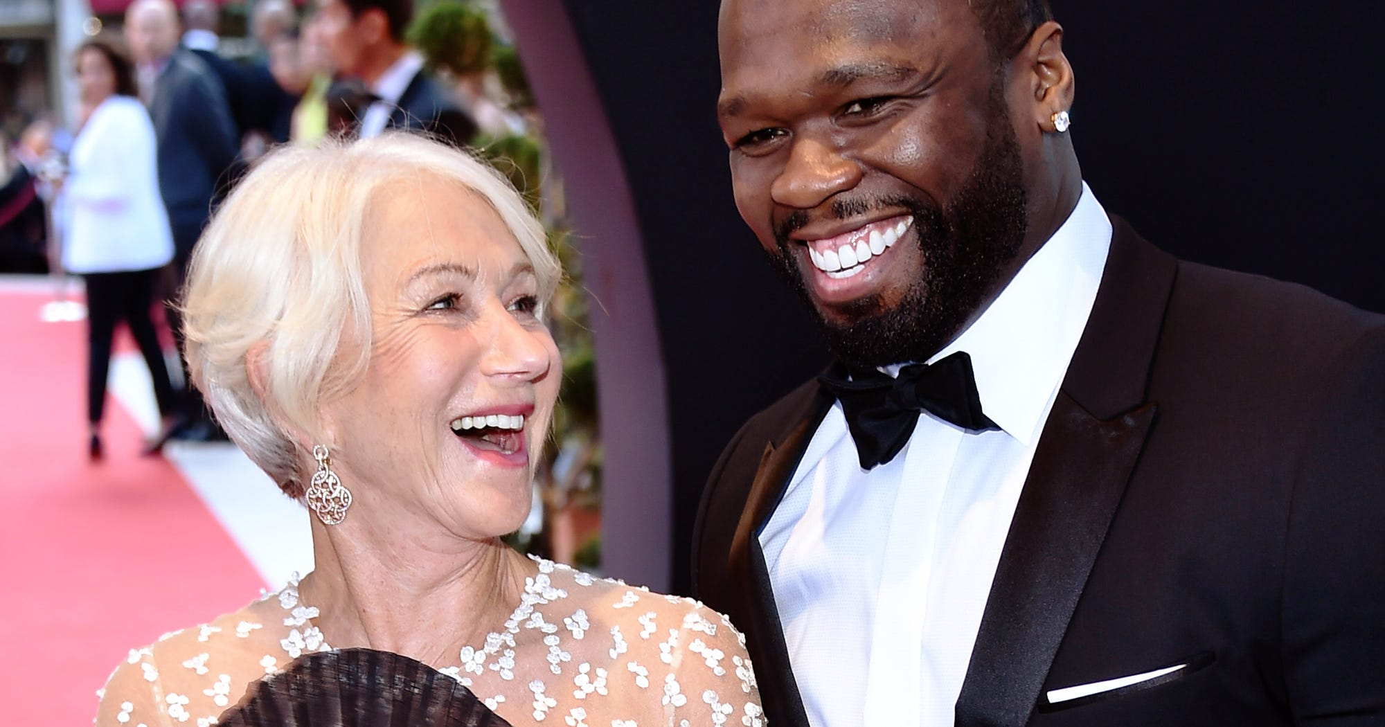 50 cent dating helen mirren