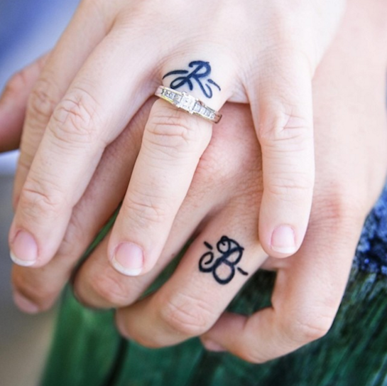 Engagement Ring Finger Tattoo Ideas