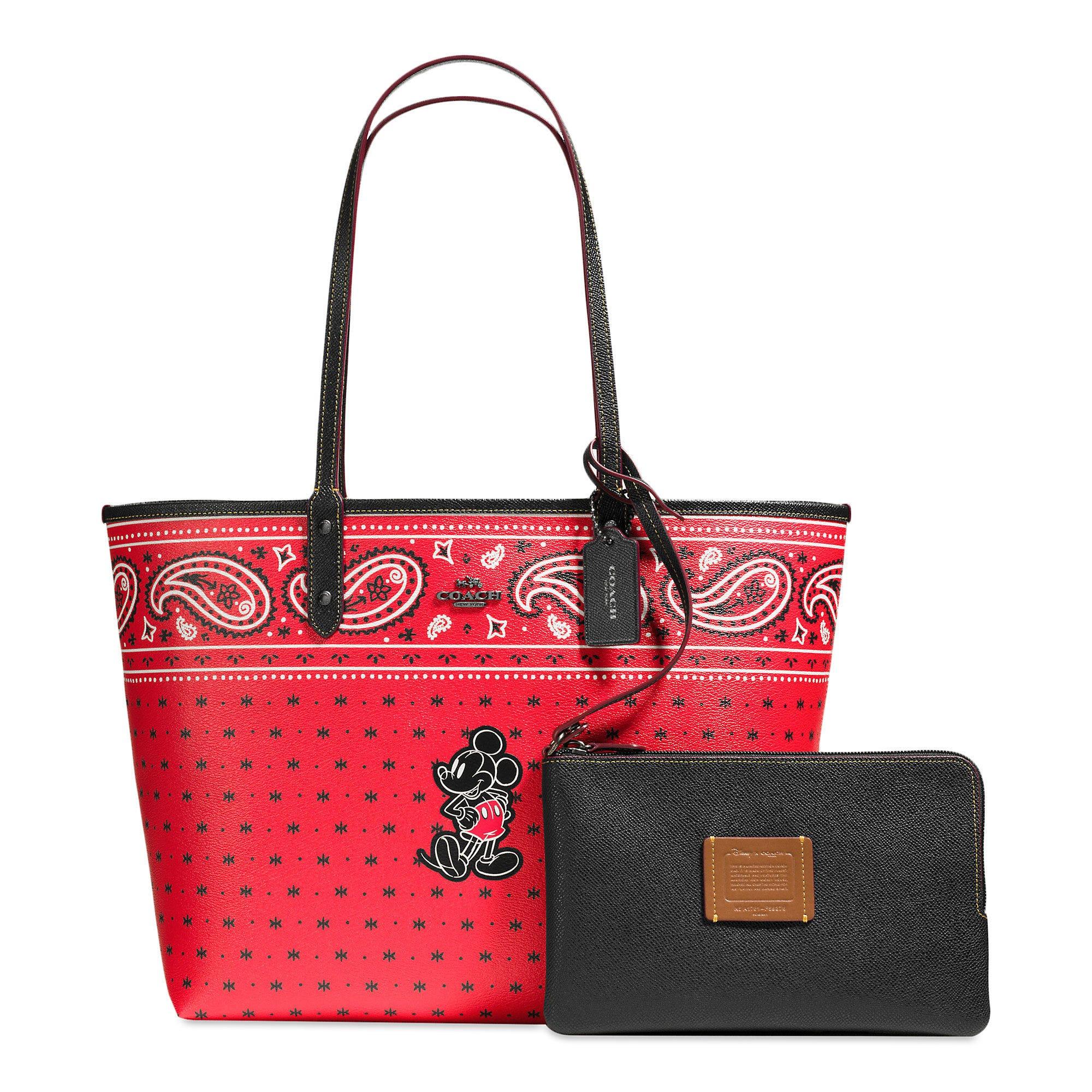 Mickey Mouse Handbags Women Coach