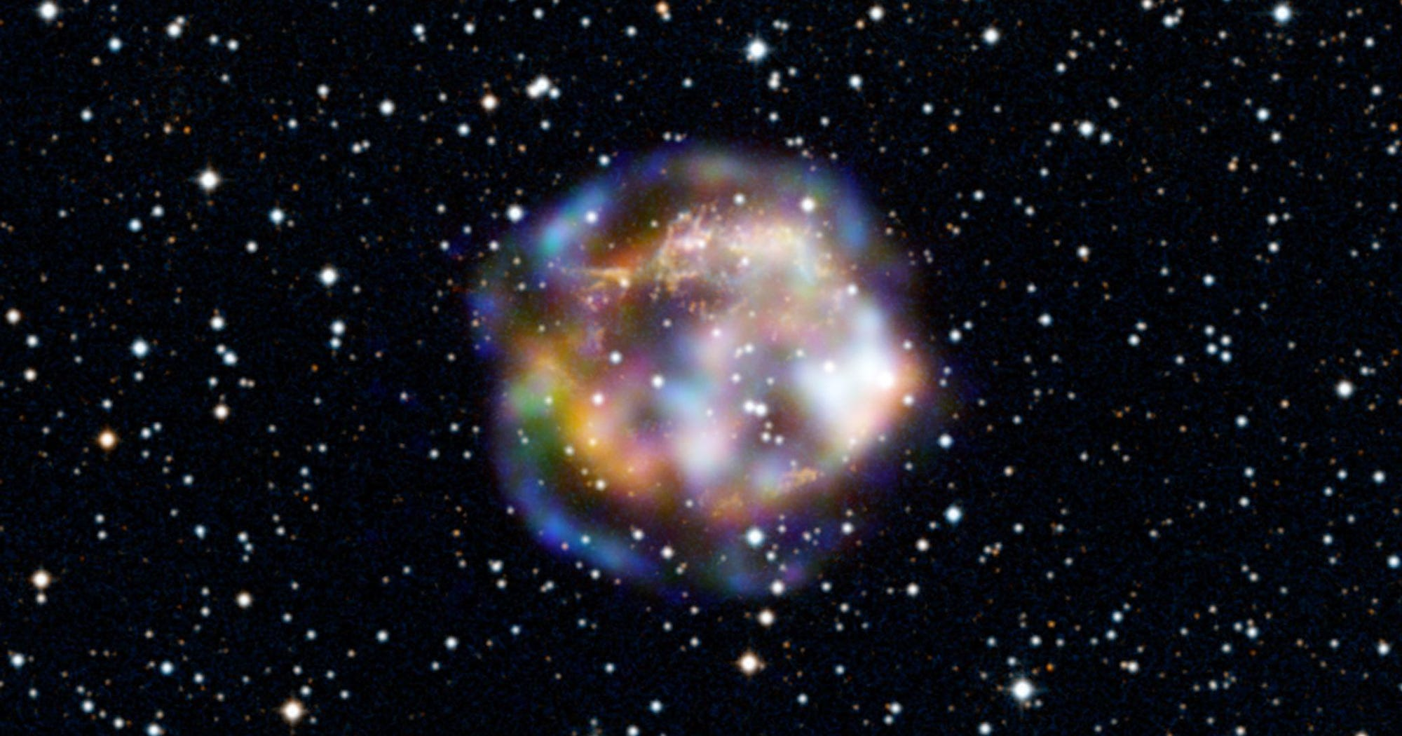 NASA Supernova GIF