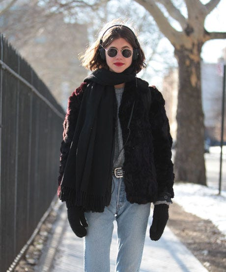 Winter Street Style NYC Layering Tips