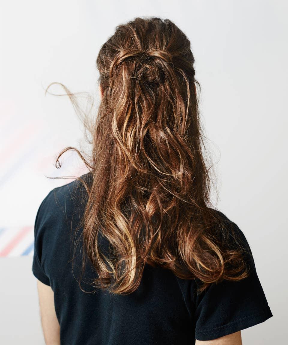 Strähnen haarfarbe hellbraun mit blonden Verschiedene Haarfarben