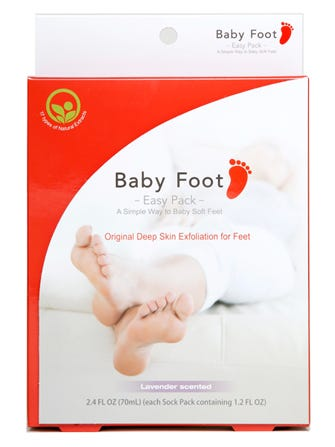 3de5c702a Baby Foot Peel Will Transform Calluses   Cracked Feet