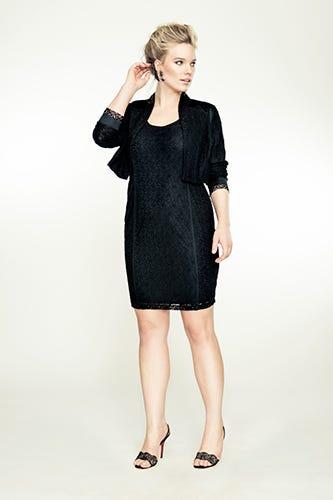 1aa01f8e6c3 Isabel Toledo for Lane Bryant. Sleeveless Lace Dress