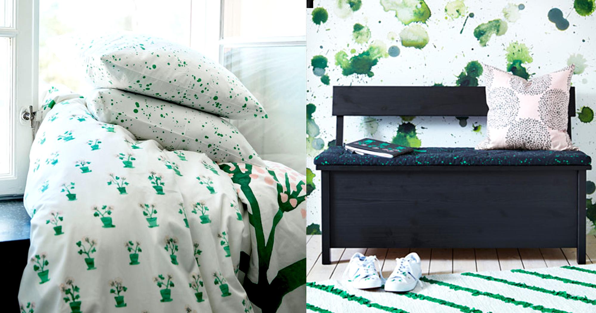 SÄLLSKAP: Die neue Ikea Kollektion schafft Stauraum