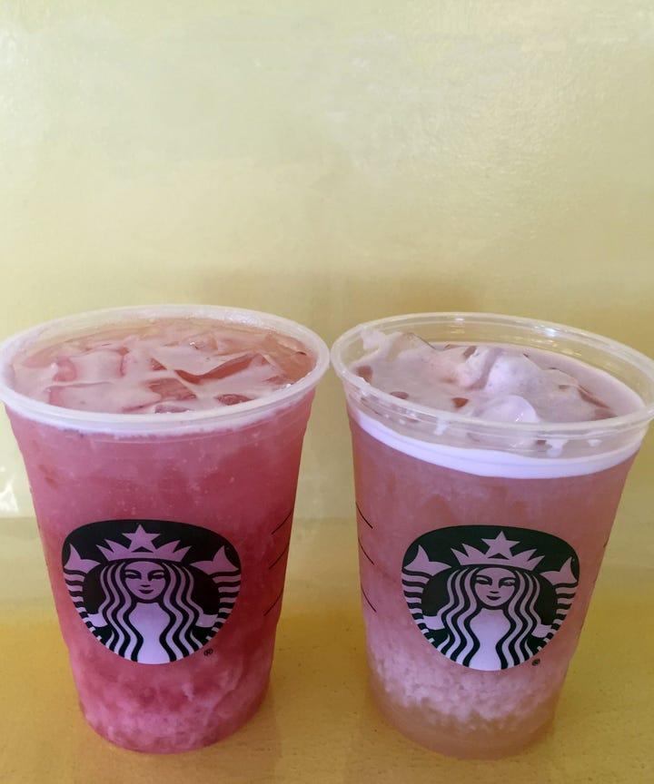 Starbucks Summer Sunrise Sunset Cold Foam Tea Review