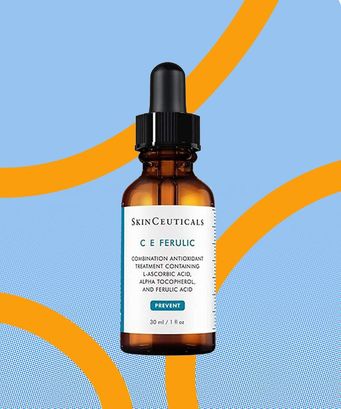 A photo of a bottle of Skin Ceuticals C E Ferulic Combination Antioxidant Treatment