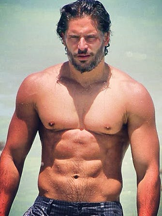 Joe manganiello dick