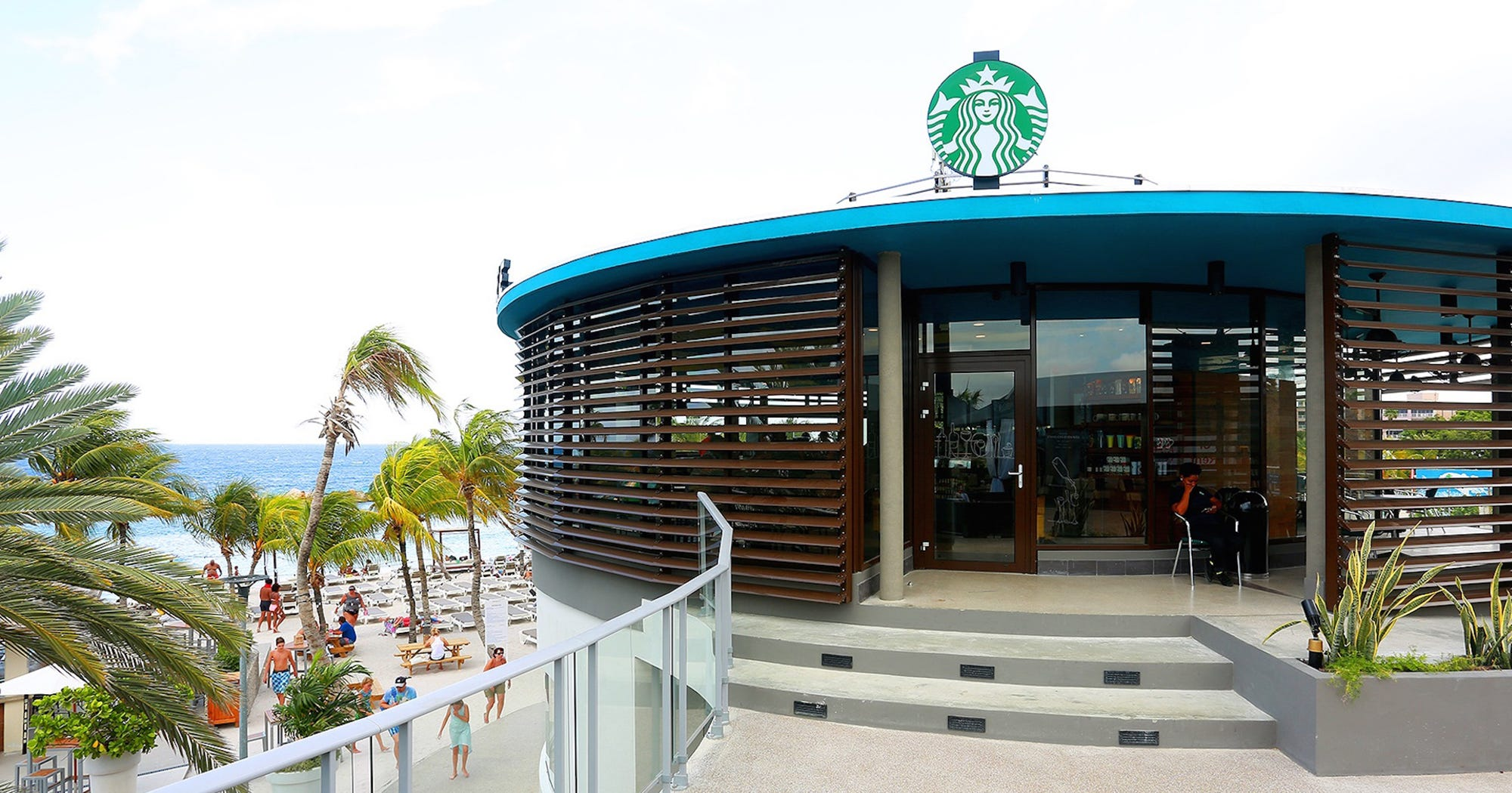 Coolest starbucks locations around the world for Starbucks in the world