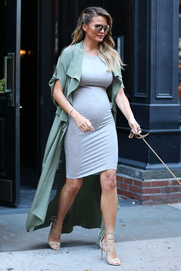 No Maternity Clothes Stay In Regular Clothing