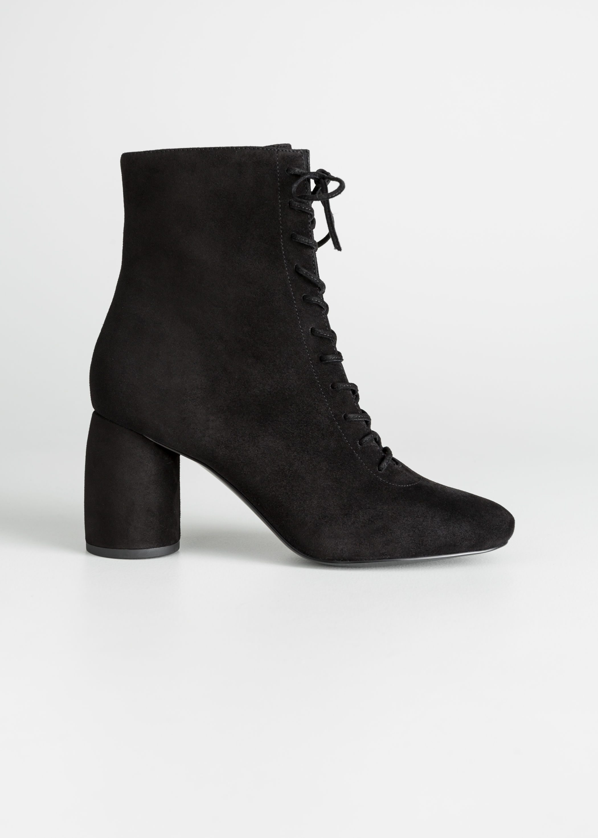 \u0026amp; Other Stories + Lace Up Suede Boots