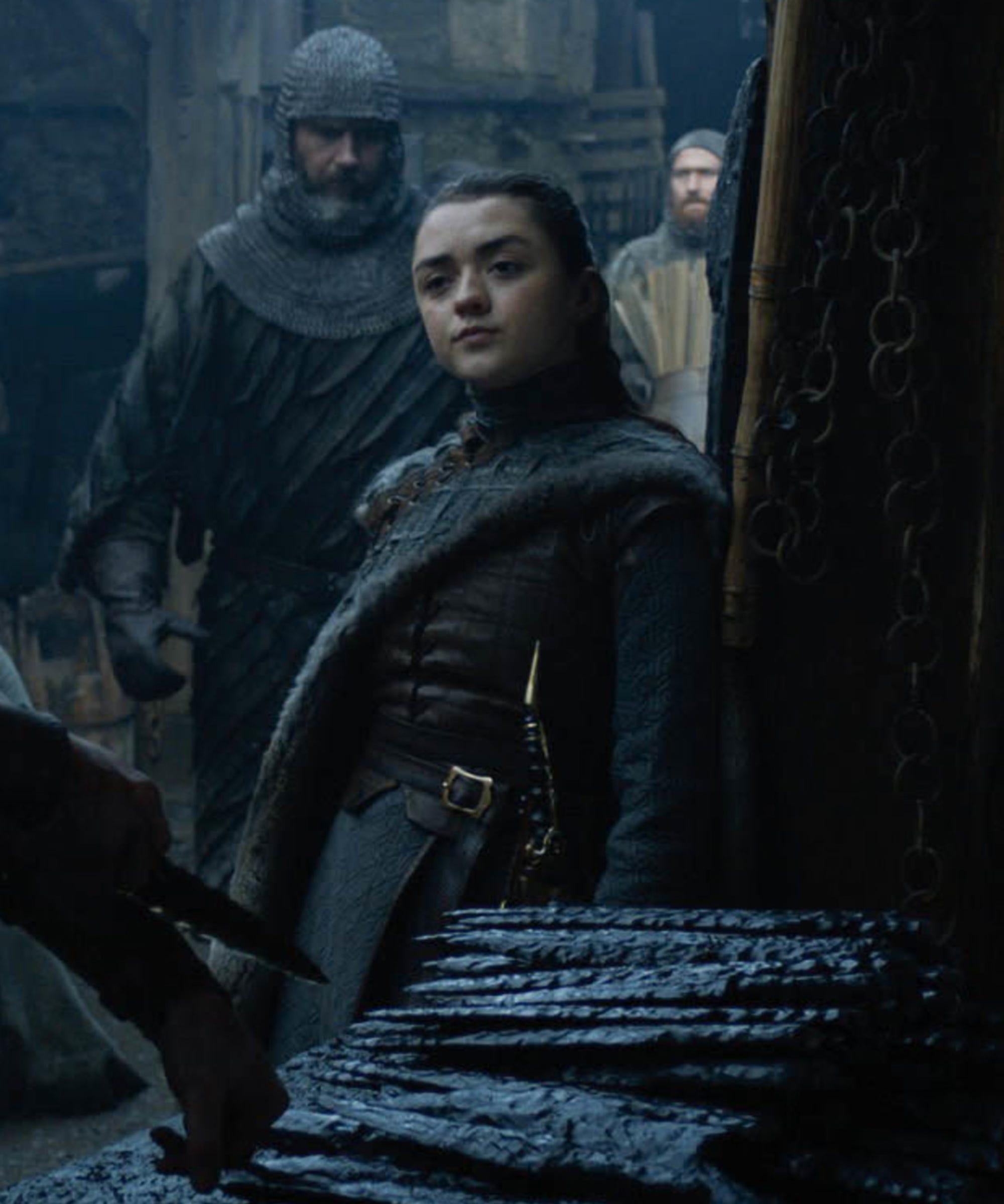 Amy Weber Sex Scene maisie williams game of thrones sex scene parents react