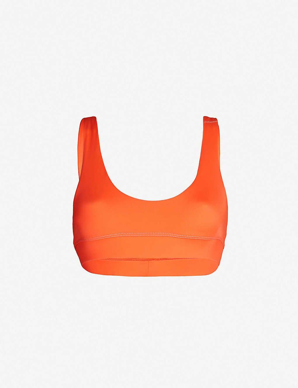 Scoop-Neck Bikini Top
