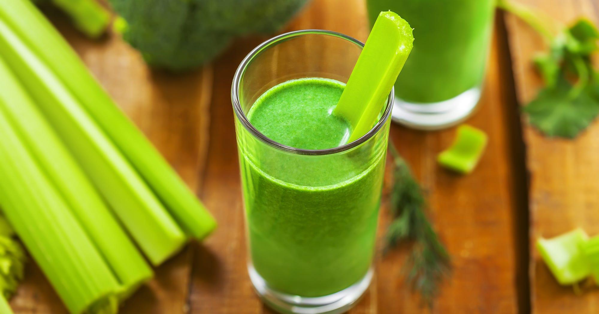 Celery Juice Benefits Of The Trendy Health Drink