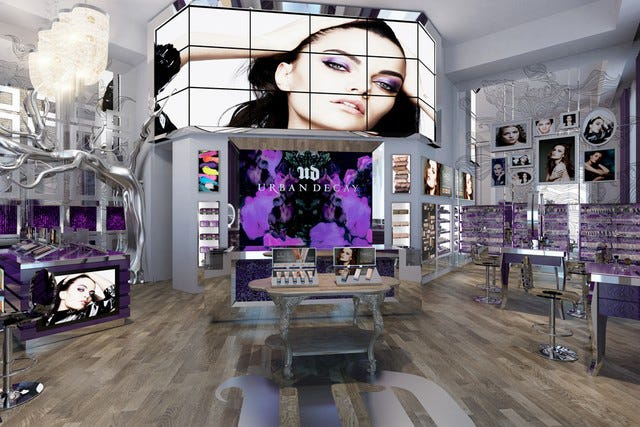 Urban Decay Store Opening