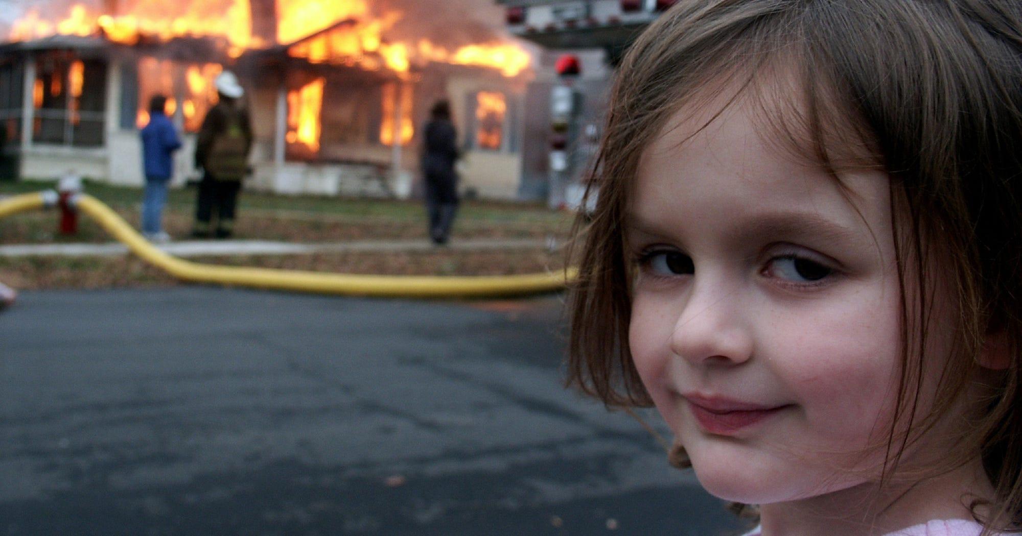Disaster Girl Meme Zoe Roth Now