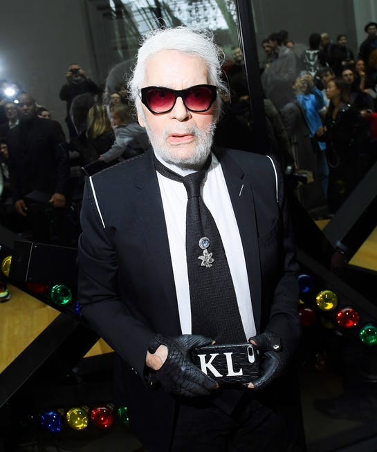Karl Lagerfeld Shades Fashion Designers In Interview