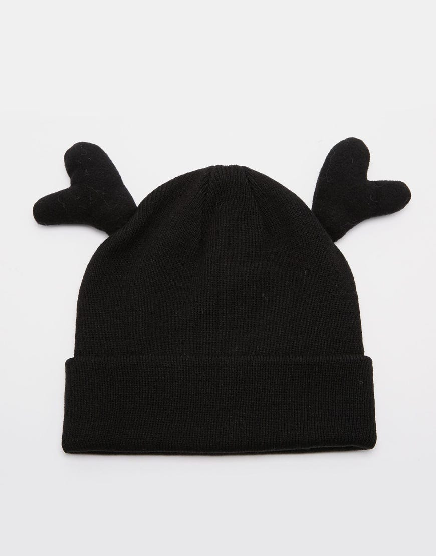 29284d213 Holidays Beanie With Reindeer Antlers
