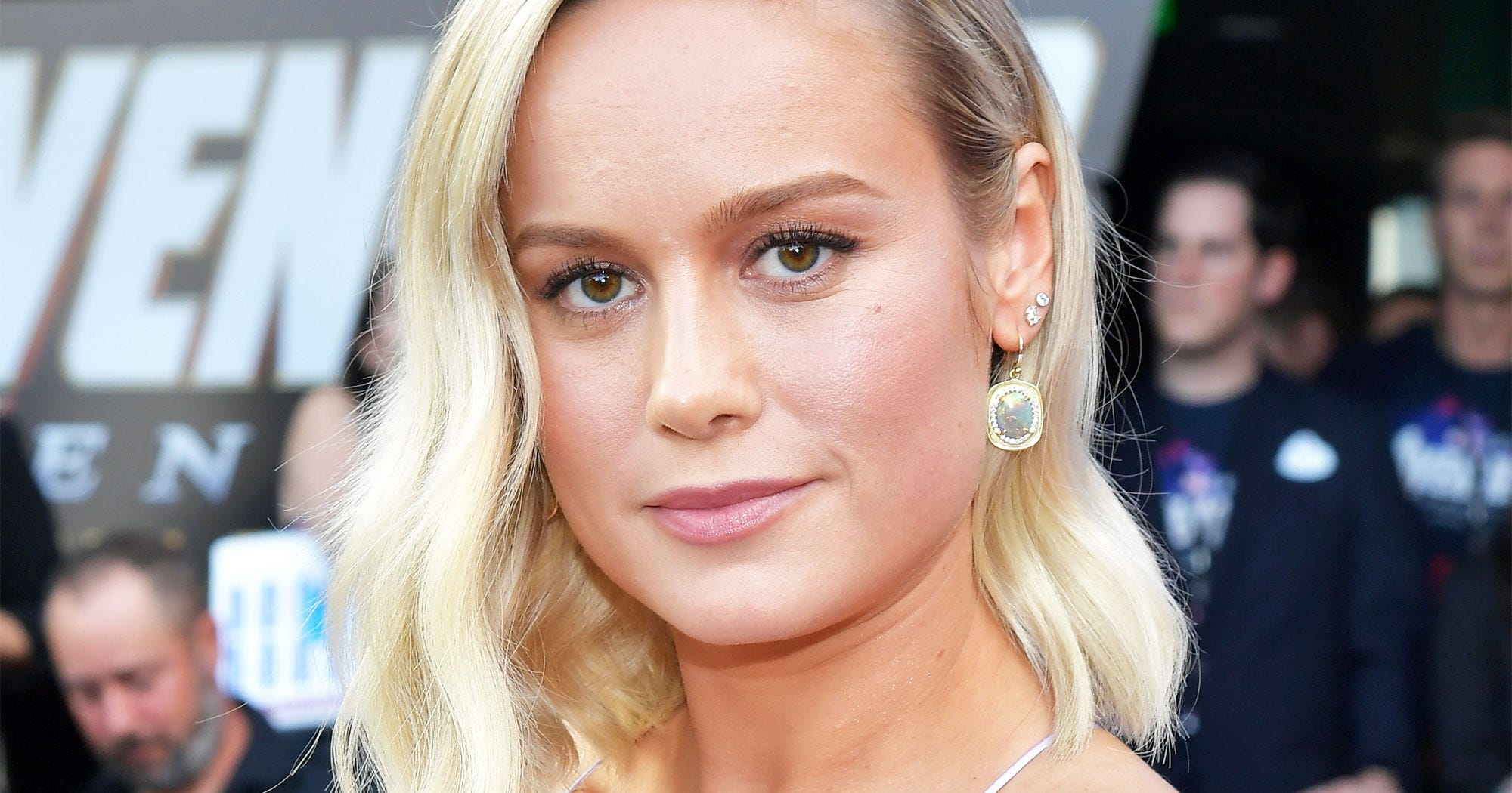 Brie Larson Debuts Short Haircut For A New Edgy Look