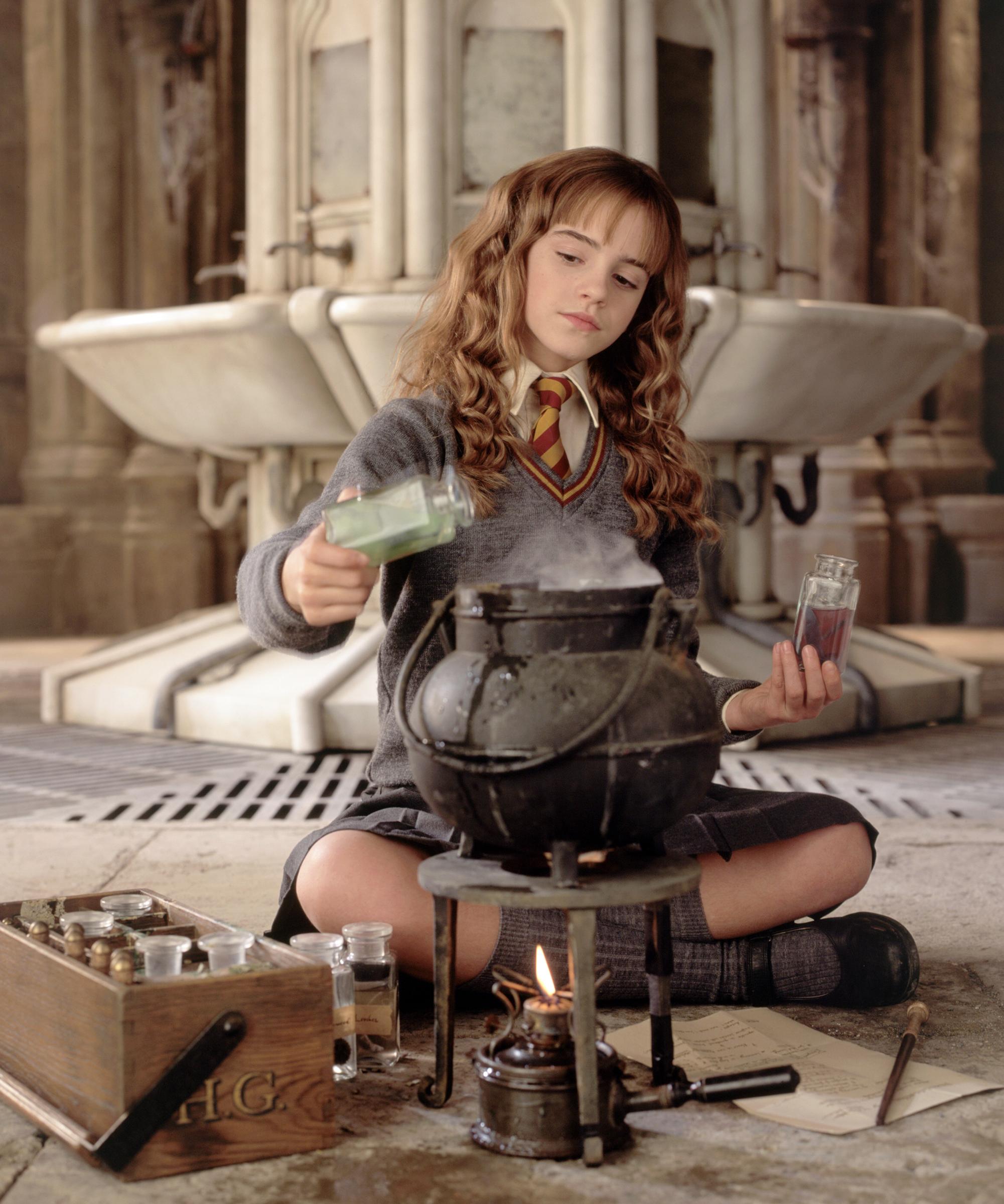 Emma Watson Playing Hermione Again Harry Potter