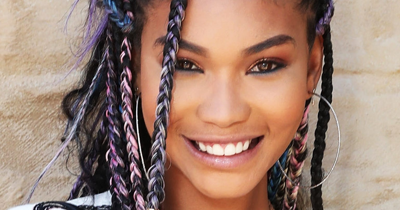 Triangle Braids Box Braids Hair Trend Teyana Taylor