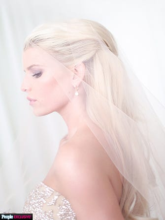 Jessica Simpson Wedding Dress Pictures