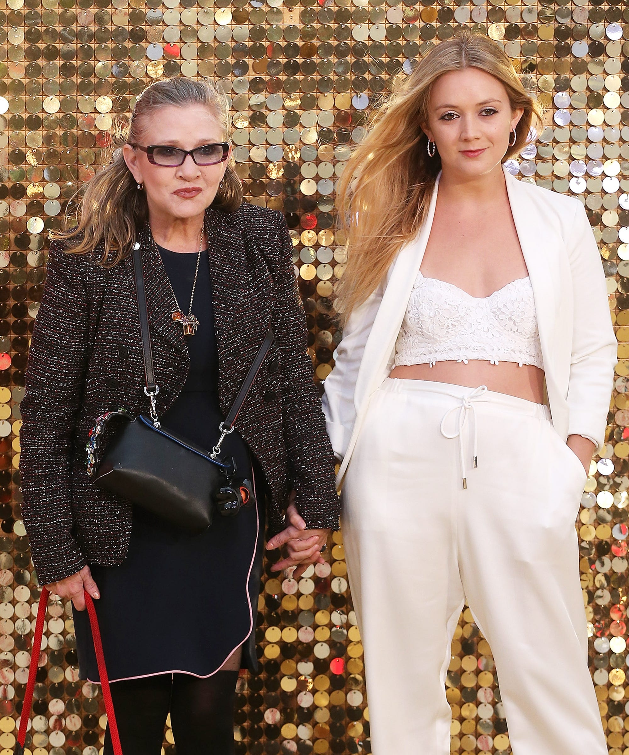 Billie Lourd Will Share Carrie Fisher Star Wars Scenes