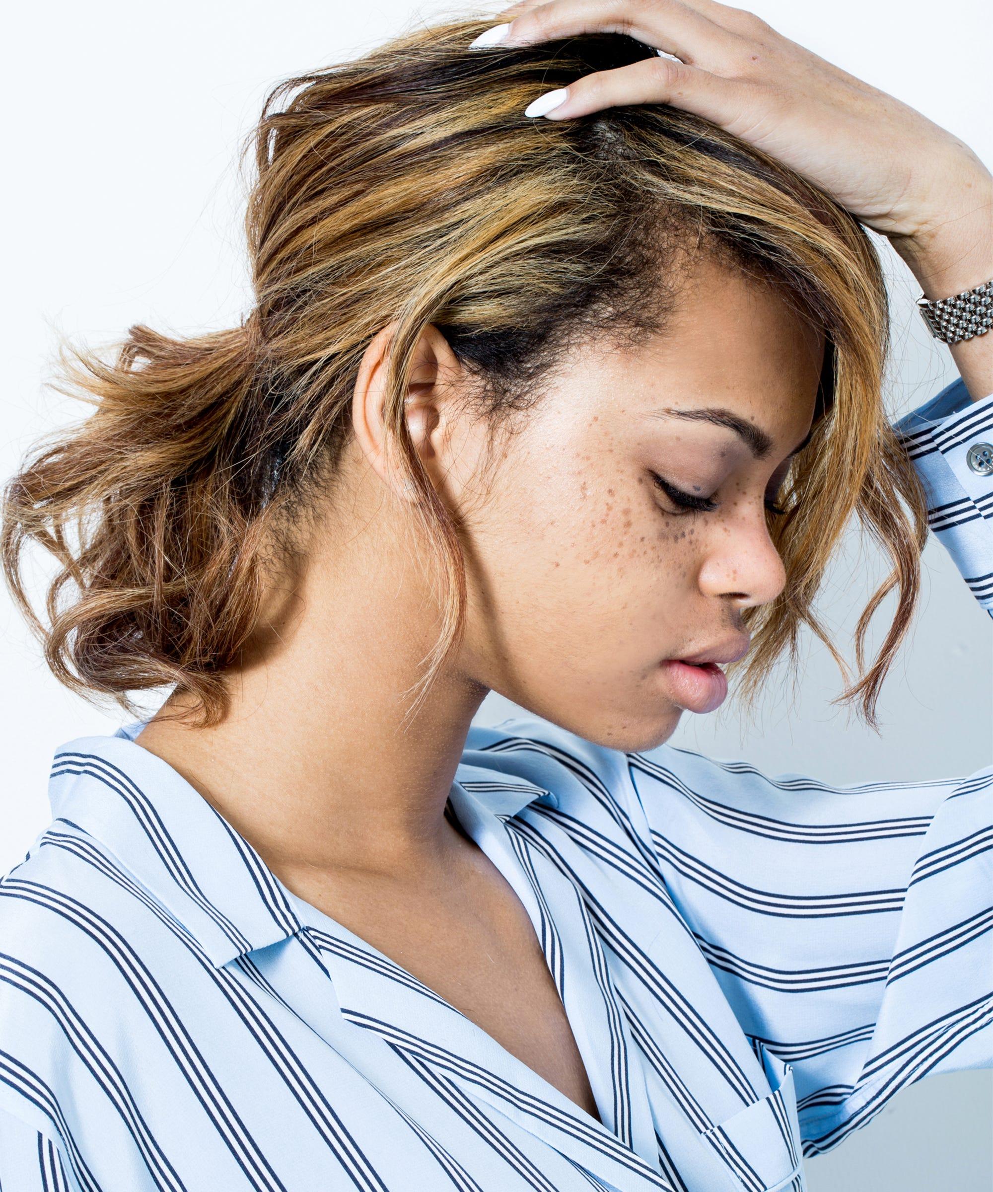 Haarfarbe zu dunkel hausmittel