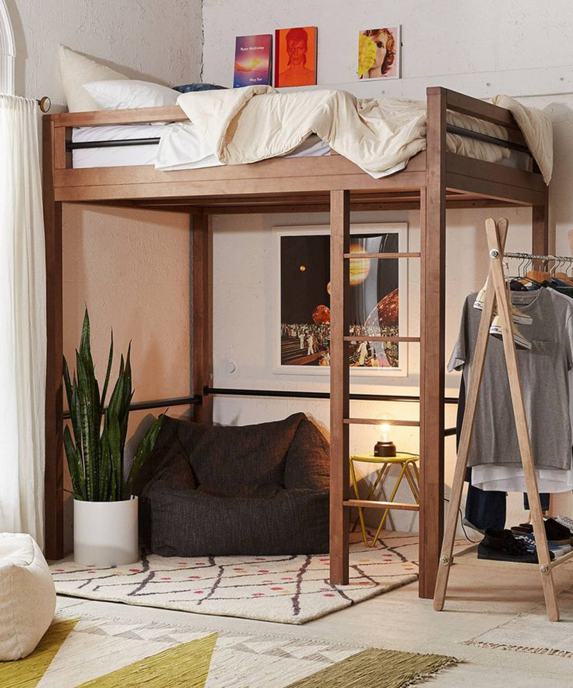 Picture of: Best Lofted Beds For Adults Queen Size Loft Bed Ideas