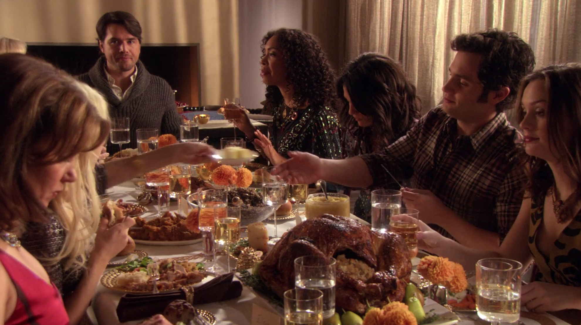 Gossip Girl Thanksgiving Episodes Holiday Dinner Cost