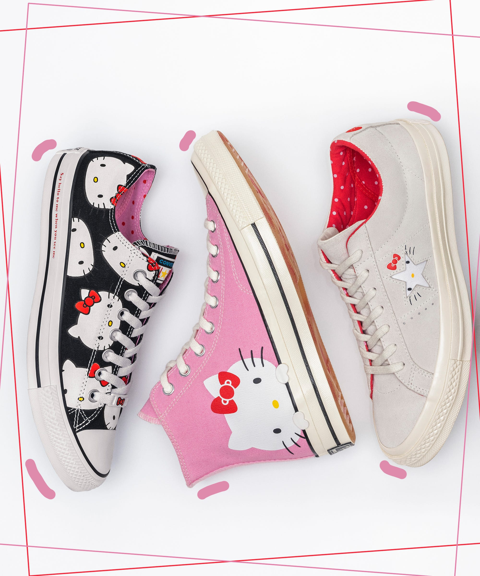 And So Good Hello Kitty 2018 Is Collab Converse Sneaker 53ARScjLq4