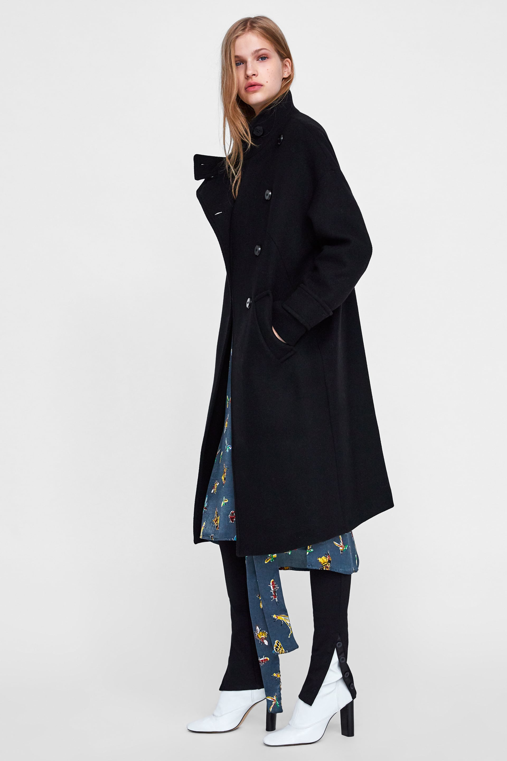 a30bc288 Best Zara Winter Coats 2018: Womens Fur, Puffers & More