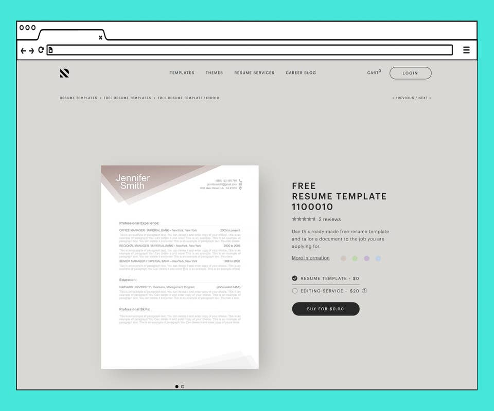 Best Free Resume Templates Online For Job Search 2020 Google docs is a popular choice for word processing thanks to the extremely accessible nature of the service. free resume templates online for job