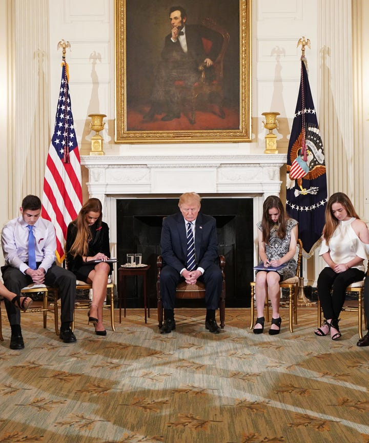 Background Checks Could Have Prevented Mass Shootings: Armed Teachers Can Stop School Shootings Trump Says