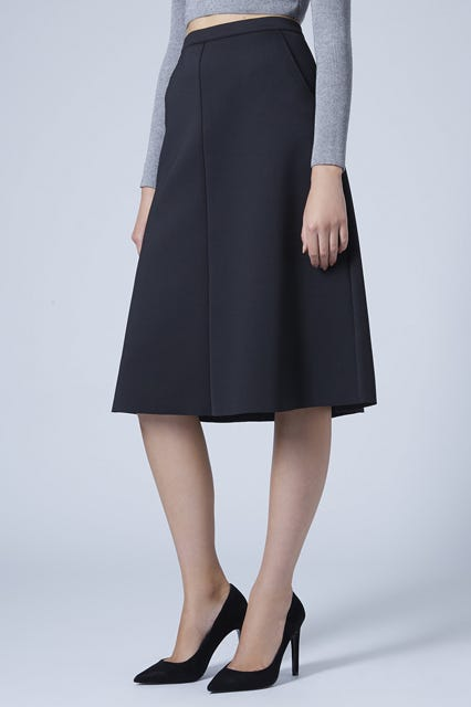 lovely luster save up to 60% details for Clean A-Line Midi Skirt