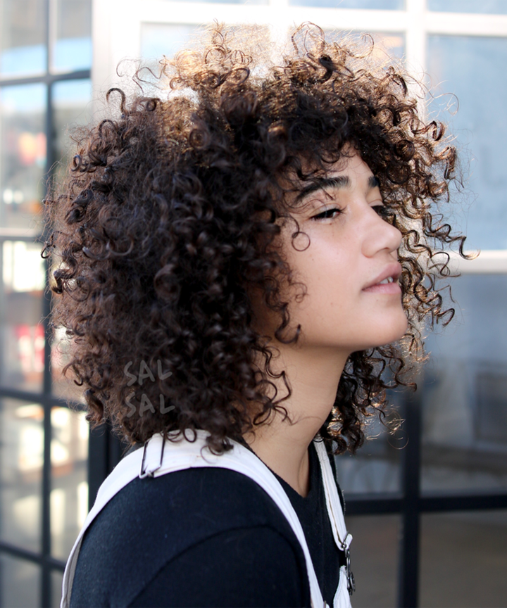 Tips for straightening curly afro hair -