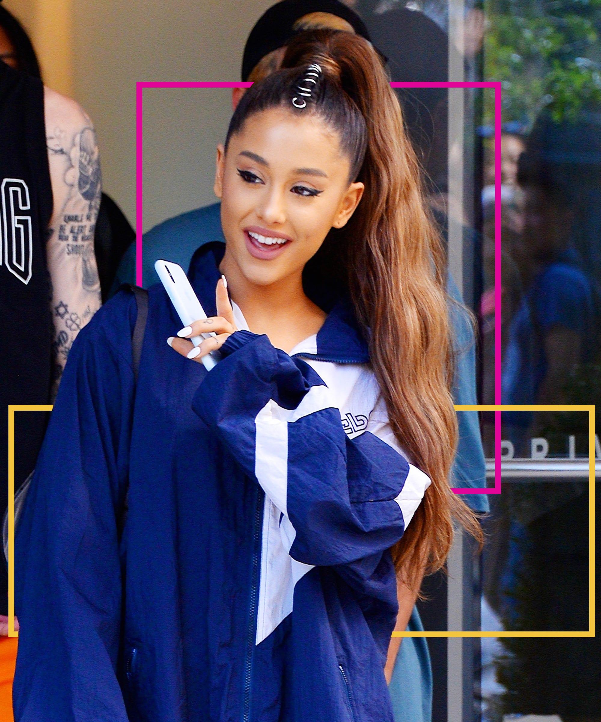 Ariana Grande Hair Ponytail Looks Evolution To 2019