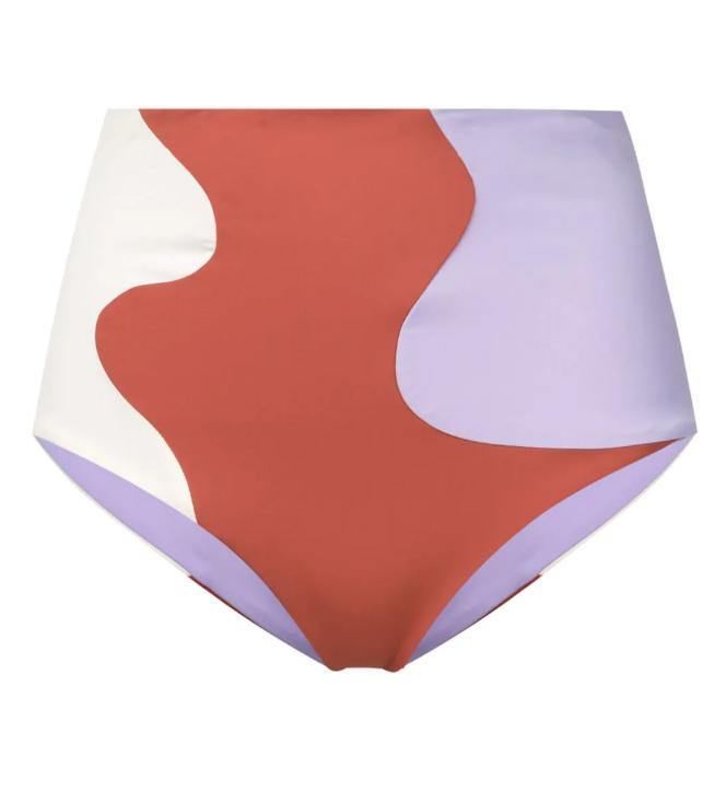 High-Rise Bikini Bottoms