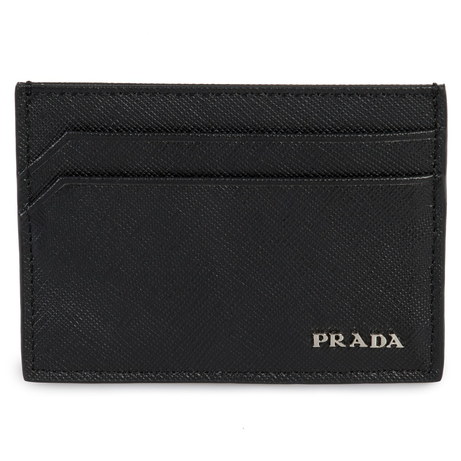 07a604d175a0 Prada + Saffiano Leather Card Holder